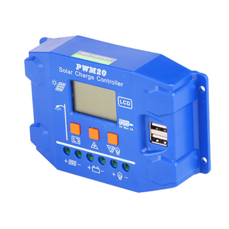 PWM-20 Solar Charge Controller SD 10-20A